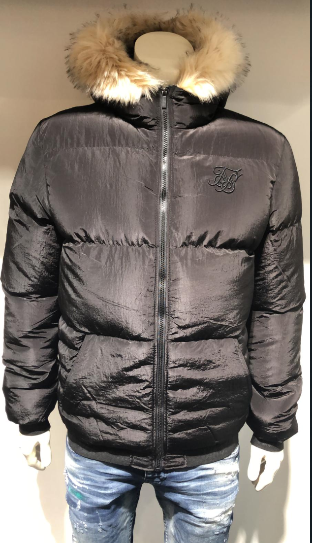 SIK SILK WINTER JACKET BLACK