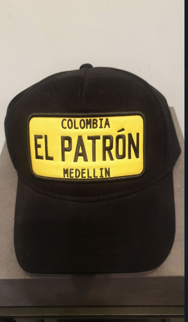 EL PATRON CAP BLACK/YELLOW