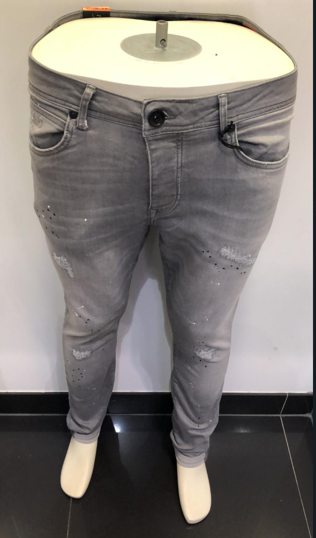 CARS SUPER SKINNY JEANS GREY USED