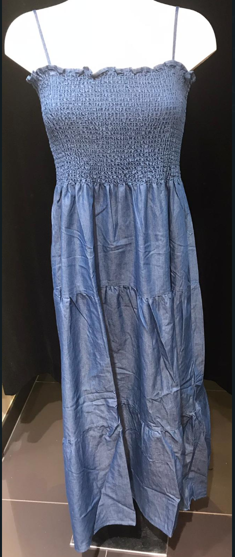 DRESS PARIS BLUE