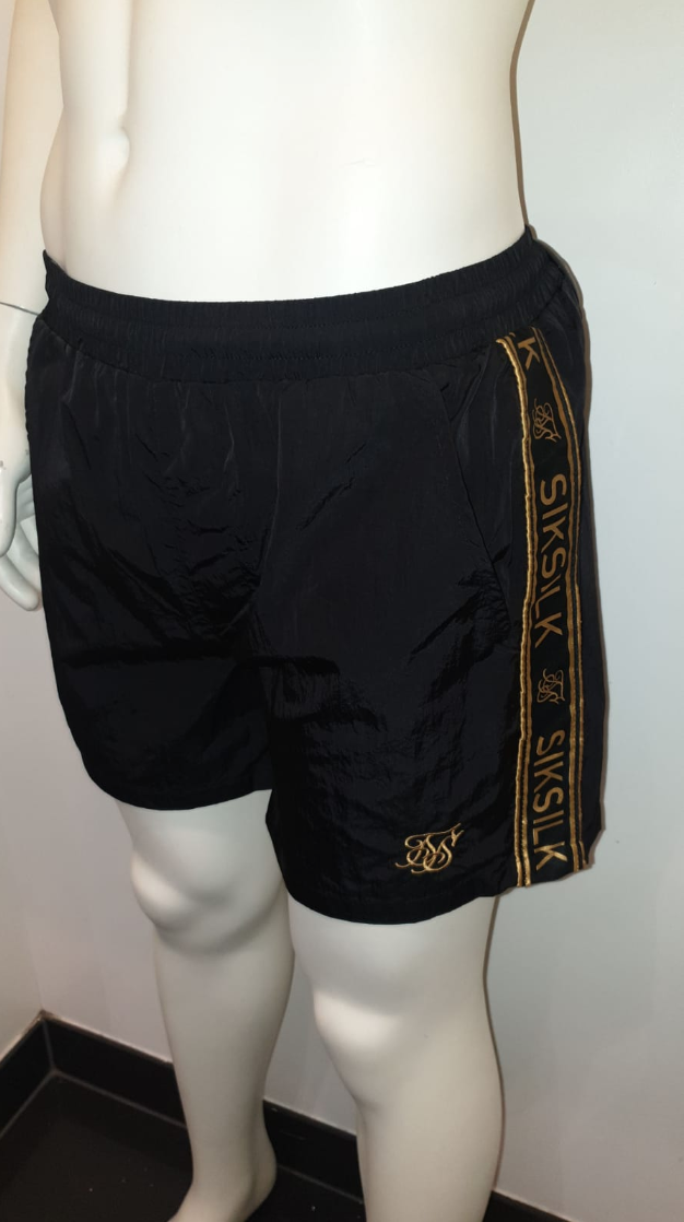 SIK SILK SWIMSHORT BLACK