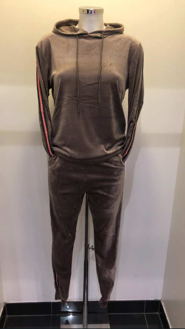 TRACKSUIT PARIS BROWN