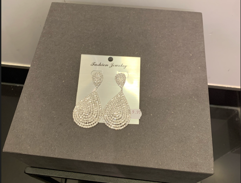 EARRINGS PARIS SILVER