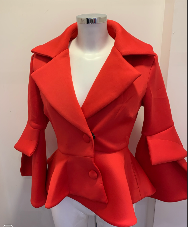 JACKET PARIS RED