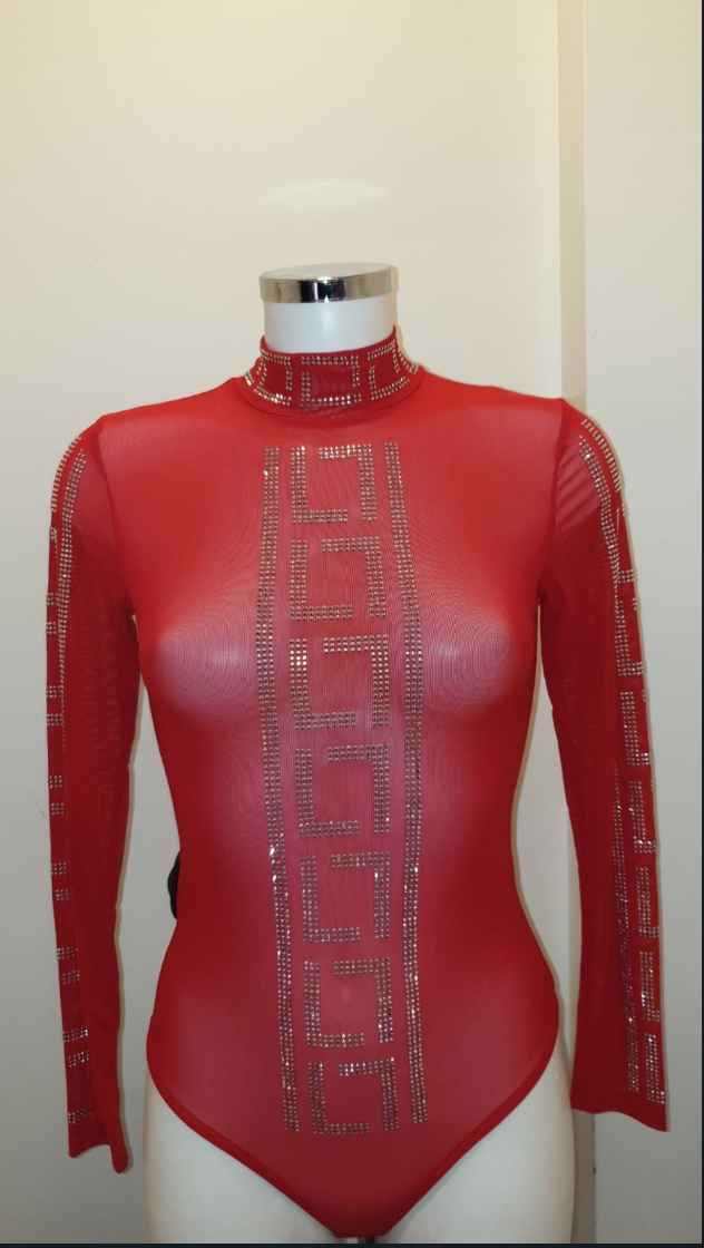 BODY PARIS RED/SILVER