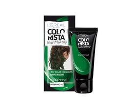 Colorista Hair Makeup Greenhair