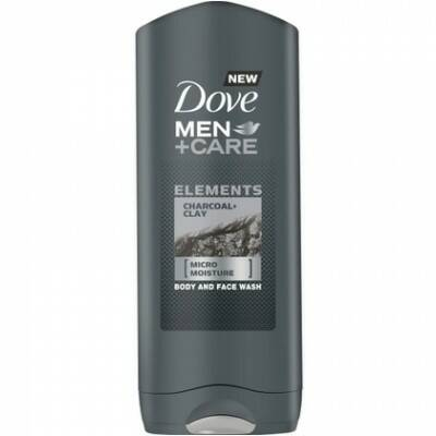 Dove Douchegel Men – Care Elements Charcoal + Clay