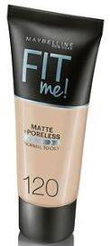 Maybelline Foundation Matte Fit Me 120