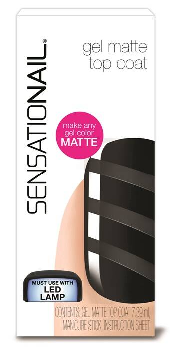 Sensationail Gel Polish Matte Top Coat