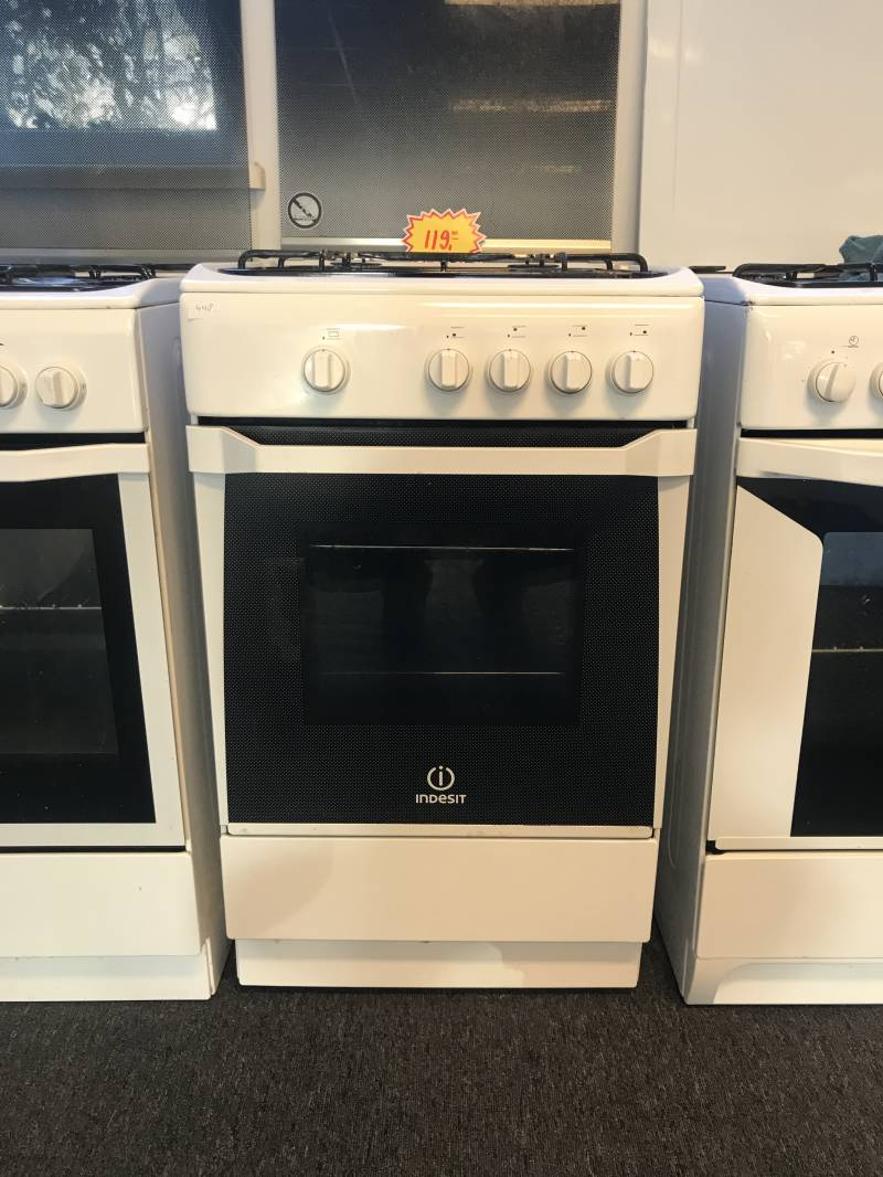 Indesit KN3G2S gasoven