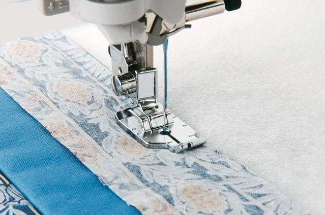Brother patchwork voet (1/4 inch) (F001N)