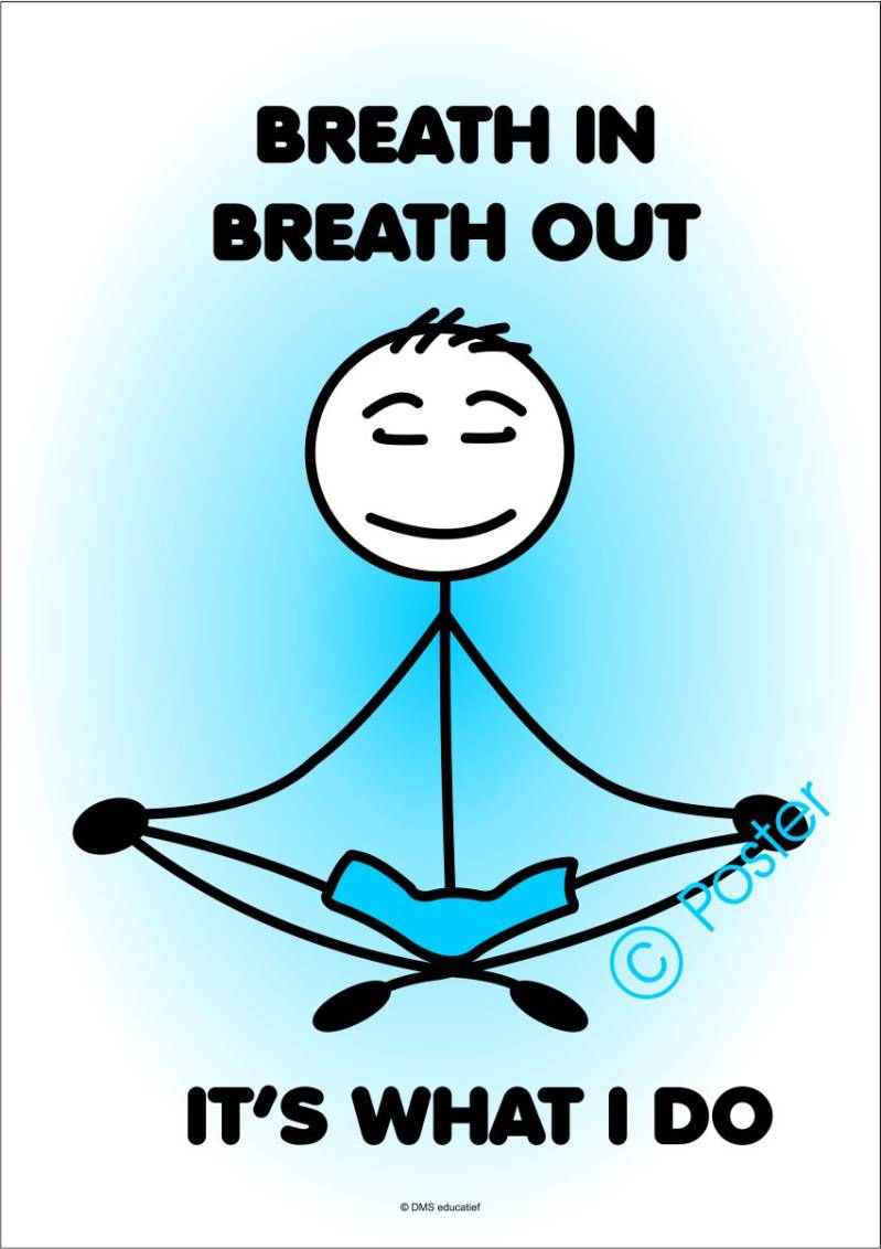Poster: Breath in, breath out