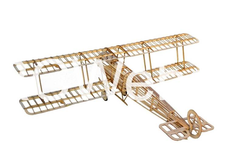 TonyRay Aero Model 007 Avro504K Balsa kit Bi-plane 50,8cm kit no. 1807 MS