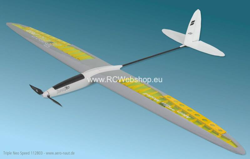 Aeronaut Plane Triple Neo Speed 1.810mm Span E-glider # 112803 *