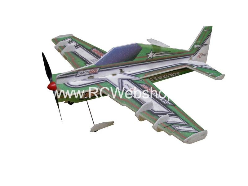 RC-Factory Crack Laser L06 Green 800mm span EPP kit *