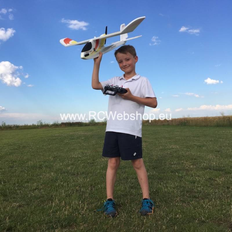 RC-Factory Complete RC Plane set for beginners - without RC set KS01_BEZ *