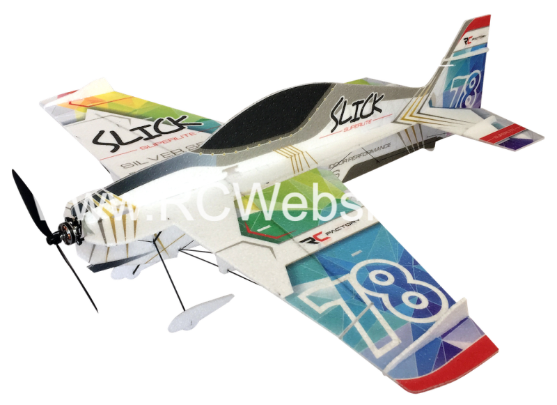RC-Factory Slick (Superlite) S21 Rainbow 830mm span EPP kit *