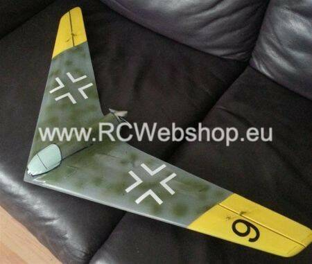 RBC Kits Funflyer Wing Micro Horten A 750mm Span kit # MICTY4YR4 **