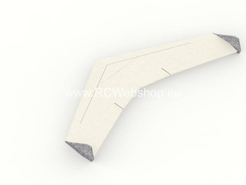 RC-Factory Fury Slope Wing F77 1200mm span EPP kit *