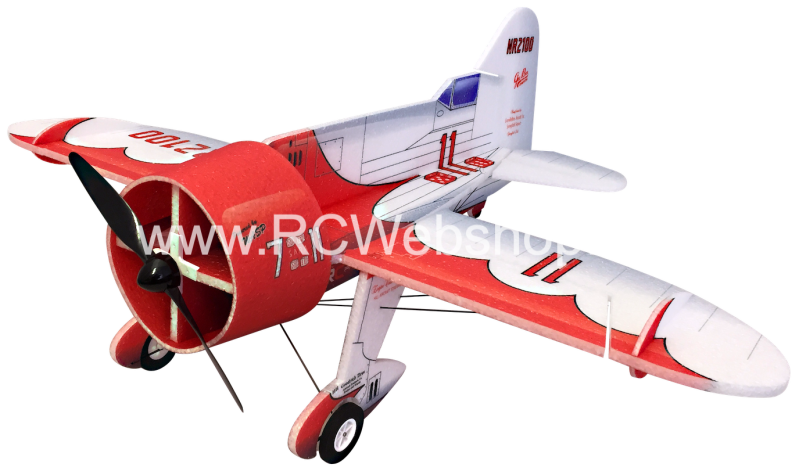RC-Factory Gee Bee B331 Red White 800mm span EPP kit