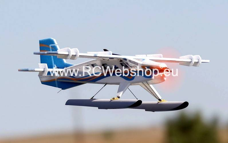 RC-Factory Crack Turbo Beaver Waterplane T12 Blue 880mm span + floats SP33 *