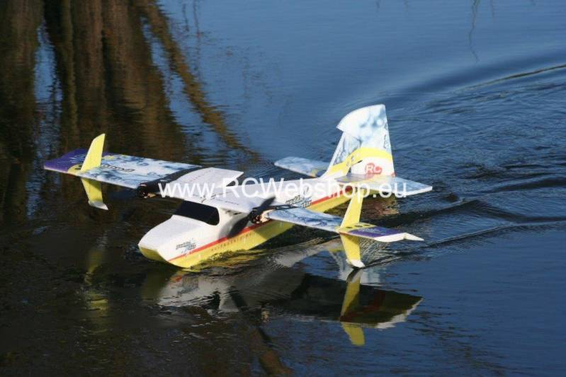 RC-Factory Puddle Star T15 1000mm span Waterplane EPP kit