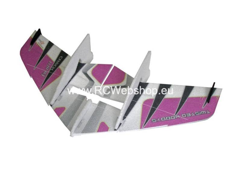 RC-Factory Crack Wing F01 Purple 750mm span EPP kit *