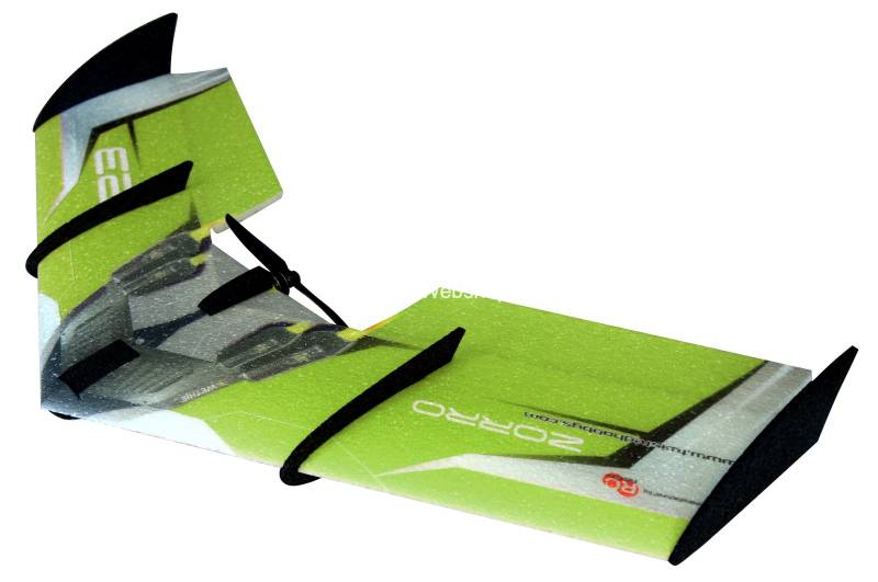 RC Factory Zorro Wing F07 Green 900mm span EPP kit *