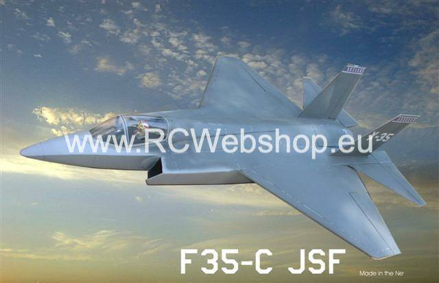 RBC kits EDF 90mm Jet F35C Midi 1.030mm Span kit #F35Y0PTQ77 **