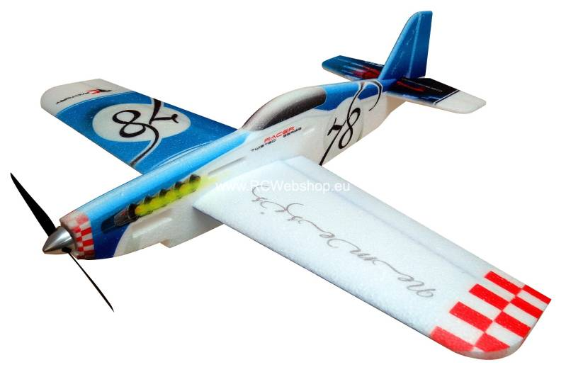 RC-Factory Nemesis pylonracer TR03 Blue 780mm span EPP kit