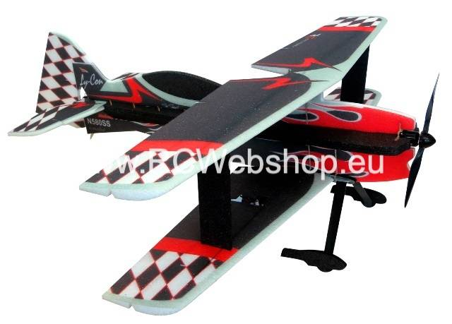 RC-Factory Revo P3 bi-plane T16 Black 940mm span EPP kit