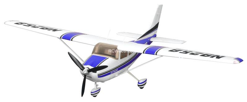 FMS Plane 1400mm Cessna 182 AT Blue (5ch ver.) PNP kit FMS007B