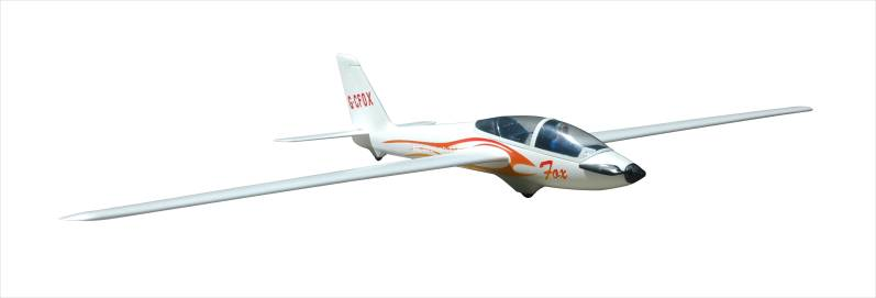 FMS Glider 2300mm : Fox V2 (with flaps) PNP Kit FMS023 *