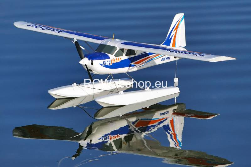 FMS Plane 1400mm Kingfisher PNP kit with Floats & Skis Waterplane FMS103F *