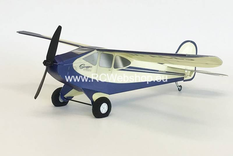 Microaces Scrappee Classic Micro Trainer Kit 430mm Span mini Plane Vliegtuig Flugzeug