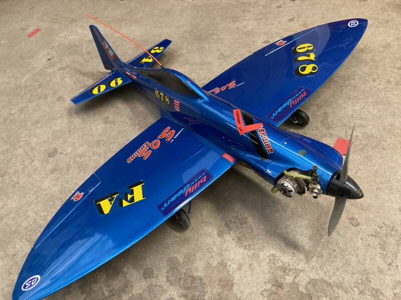 Used Plane Pylonracer Billy Dean 1.140mm Span #201101