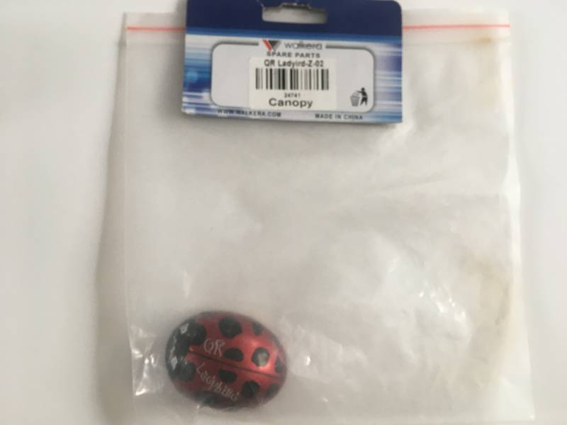 Drone Quadcopter Body QR Ladybird Z-02 RED Packed