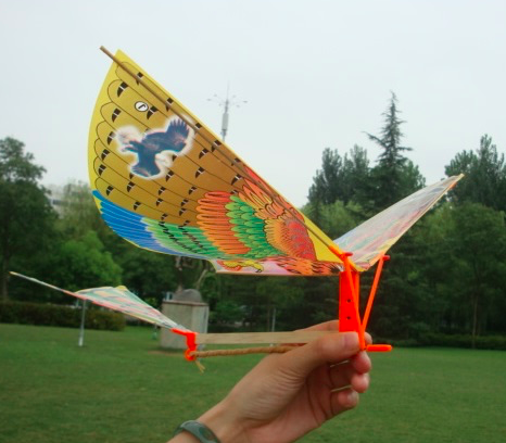 TER REVIEW Ornithopter KIT - DIY - Rubber
