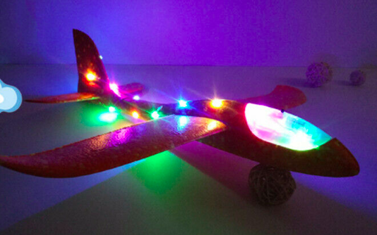 Plane with LED 48 cm span