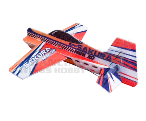 TER REVIEW : 3D indoor parkflyer epp foam orange model KIT 1110E