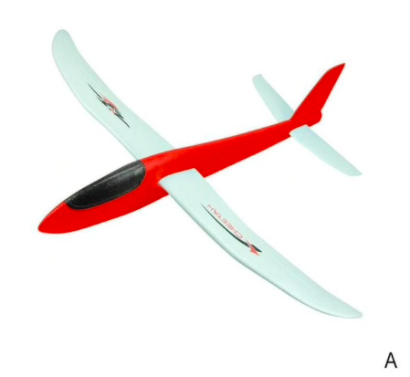 TER REVIEW EPP foam plane 100cm span A RED