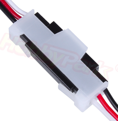 Nylon Extension Servo Lead Lock L30xW12xH6mm RC Airplane Replacement Parts