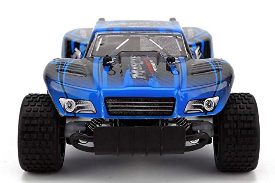 New 1:18 RC Car 2812 2.4G 20KM/H High Speed Racing Car Climbing Remote Control blue