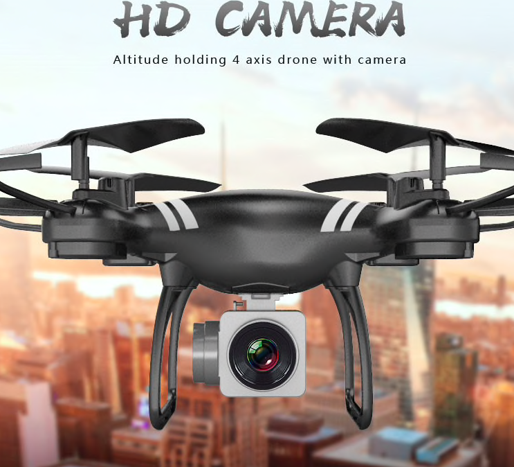 Sale : RC Drone 4-Axis aircraft wide-angle 5MP 2MP HD RC Quadcopter Drone with 5MP HD 1080 Camera  Upgrade WiFi Camera Real Time Video