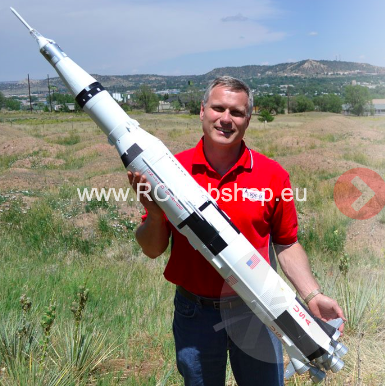 KR Rocket Saturn V 1.580mm / dia 142mm KRAC-05026 ***