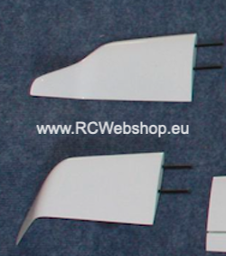 Valenta model part for plane #47 Salto 4,2m and 4,5m Winglets Couple ******