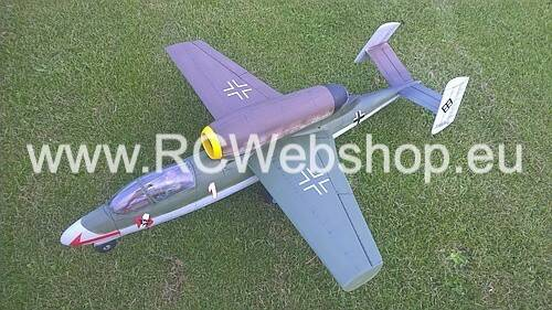 RBC kits EDF 90mm Jet The HE162 Volksjager 1.100mm Span kit #HE1EP1Z880 **