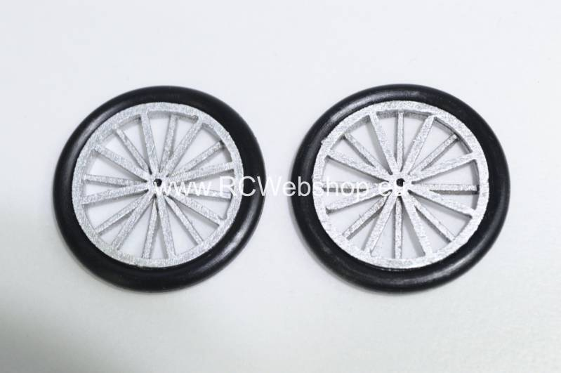 TonyRay Aero Model set of wheels for Balsa kit