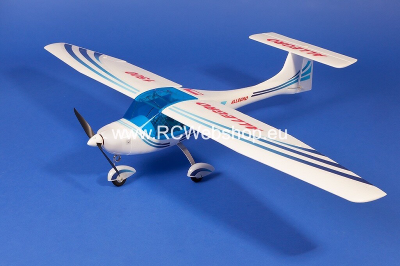 Sale : Almost complete model airplane 1150mm NEW KIT model B ARF