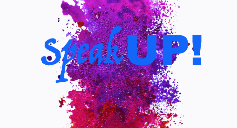 Enrolment Speak UP! Saturday, May 30th 2020